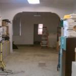 Before -- Commercial floor