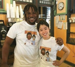 Earl and Tina, friendly High Point baristas